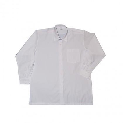 Cute Maree Academy Primary School Uniform TC Long Sleeve Shirt - White