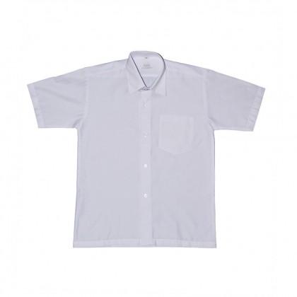 Cute Maree Academy Primary School Uniform Short Sleeve - White