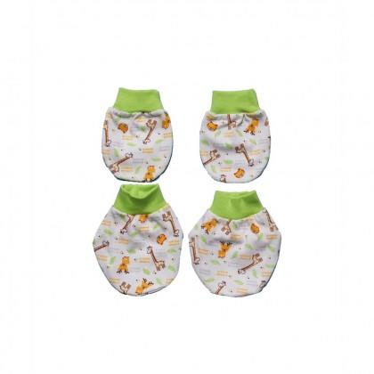 Cute Maree Baby Mitten & Booties Set