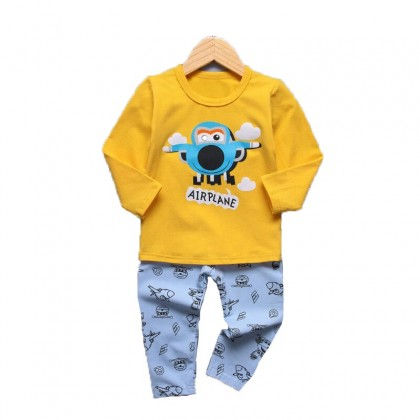 Cute Maree Airplane and Little Rabbit Baby Suit