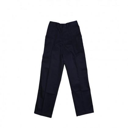 Cute Maree Academy Primary School Uniform Cotton Long Pants - Dark Blue