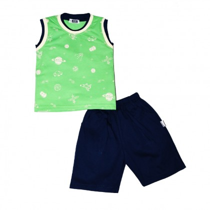 Cute Maree Air Space Baby Boy Clothing Set
