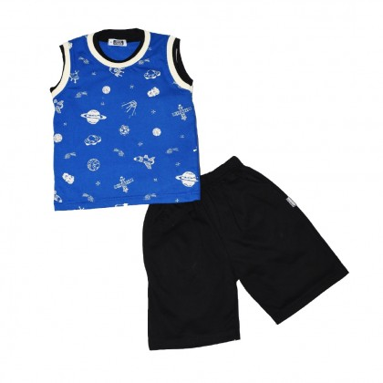 Cute Maree Air Space Baby Boy Clothing Set