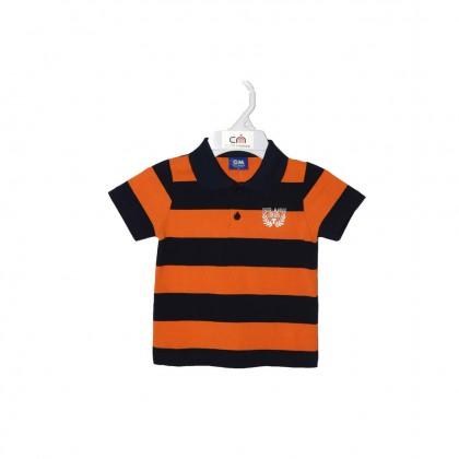 Cute Maree Junior Boys' Top - Orange 9135