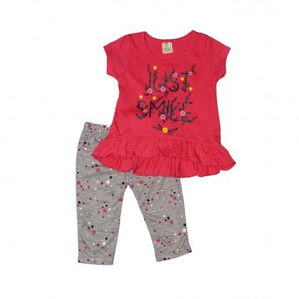 Cute Maree Junior Girls' Just Smile Baby Suit