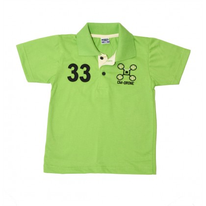 Cute Maree CM Drone Boy Collar Top T-Shirt