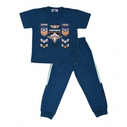 Cute Maree Captain Airforce Sport Suit Set